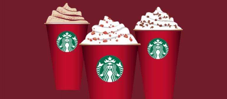 Starbucks Not Christmassy Enough