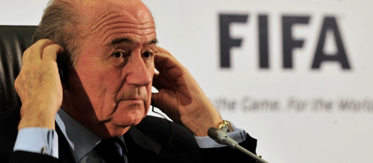Blatter, a bored farmer, polluting cruise liners and climate deniers